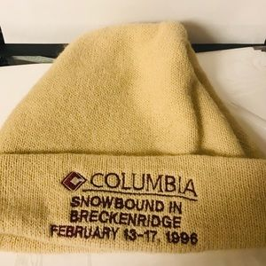 Columbia beanie cap